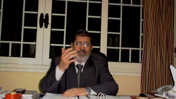 Presidente electo de Egipto, Mohamed Morsi - Sputnik Mundo