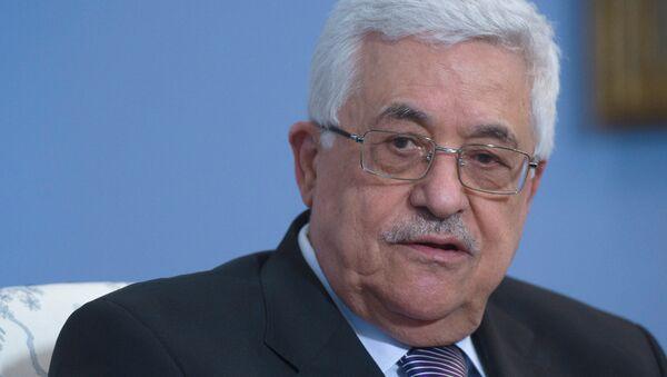 Presidente de la Autoridad Nacional Palestina (ANP), Mahmud Abbas - Sputnik Mundo