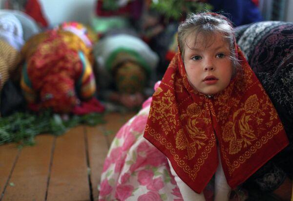 Rusia celebra la fiesta de la Santísima Trinidad - Sputnik Mundo