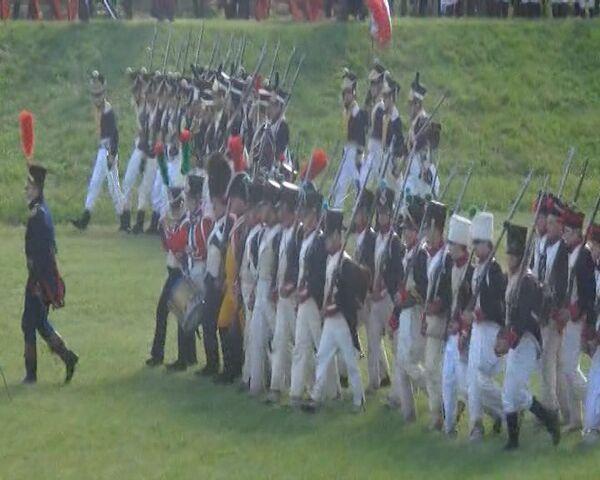 Voluntarios repiten paso del ejército de Napoleón sobre río el Niemen 200 años después - Sputnik Mundo
