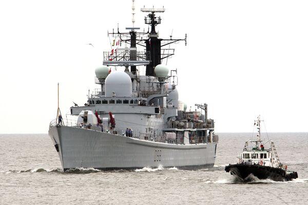 Francia, Rusia, Reino Unido y EEUU inician ejercicios navales FRUKUS 2012 en el Báltico - Sputnik Mundo