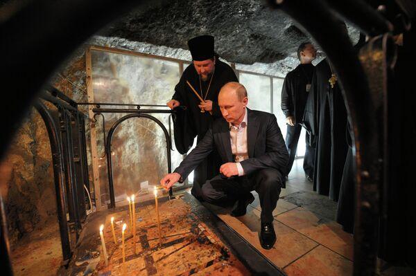 Putin visita lugares sagrados de Jerusalén  - Sputnik Mundo