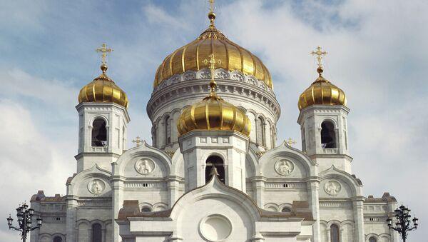 Catedral de Cristo Salvador de Moscú - Sputnik Mundo