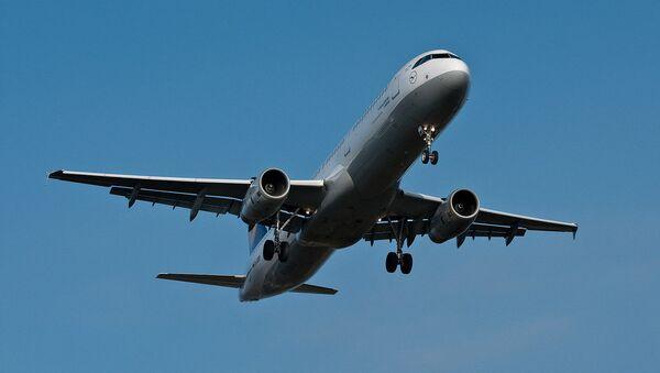 Airbus A321 - Sputnik Mundo