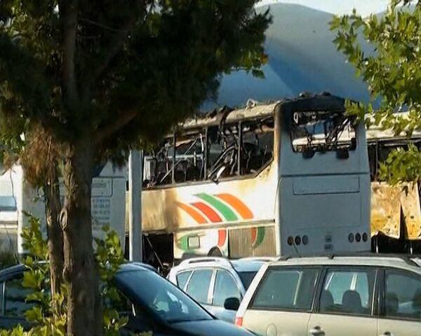Policía búlgara acordona la zona del atentado contra turistas israelíes en Burgas - Sputnik Mundo