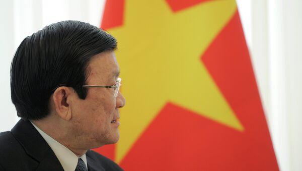 Truong Tan Sang, presidente de Vietnam - Sputnik Mundo