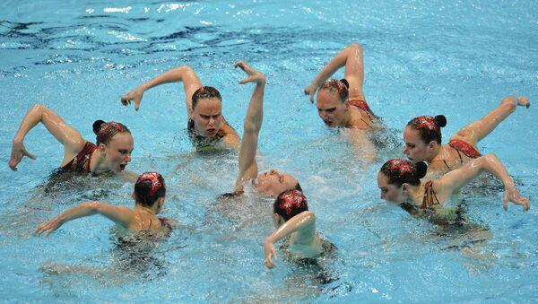 La selección rusa de natación sincronizada - Sputnik Mundo