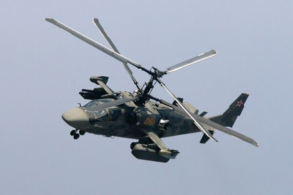 Rusia firma un contrato para el suministro de helicópteros Ka-52 a Irak - Sputnik Mundo