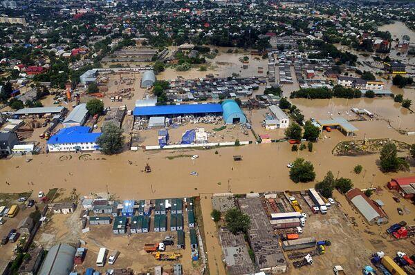 El cataclismo más grave fue la inundación de julio pasado en la ciudad de Krimsk, con casi 170 muertos. - Sputnik Mundo
