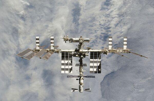 Un ruso y un estadounidense pasarán un año a bordo de la ISS - Sputnik Mundo