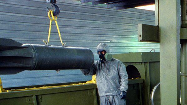 Faltan por destruir menos de un tercio de las armas químicas en Rusia - Sputnik Mundo
