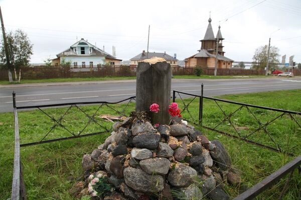 Desconocidos derribaron y causaron daños a tres cruces pertenecientes a templos ortodoxos en la provincia de Cheliabinsk, en la región de los montes Urales, y otra cruz en la provincia de Arjágels, en el noroeste del país - Sputnik Mundo