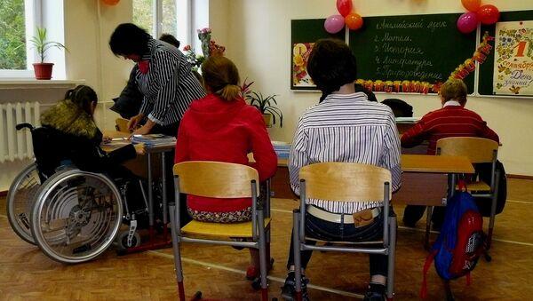 Una quinta parte de las escuelas rusas podrán acoger a niños discapacitados - Sputnik Mundo
