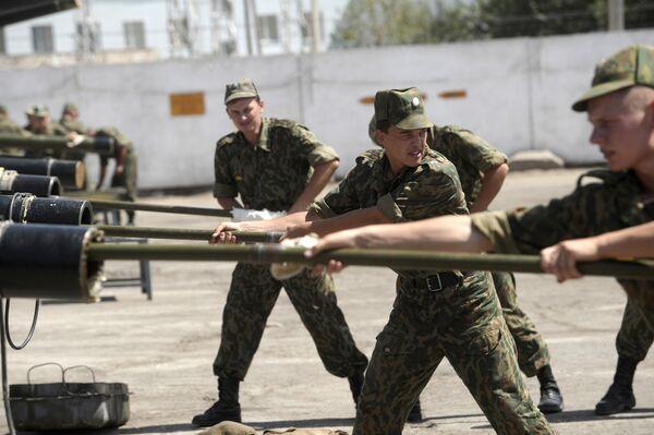Base militar rusa en Tayikistán (archivo) - Sputnik Mundo