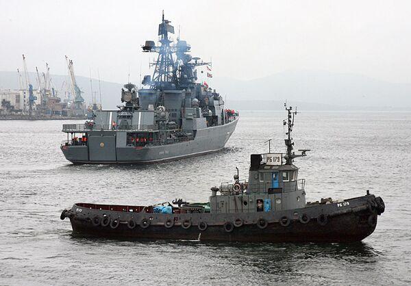 Buques de guerra rusos continuarán la misión antipiratería en el Cuerno de África - Sputnik Mundo