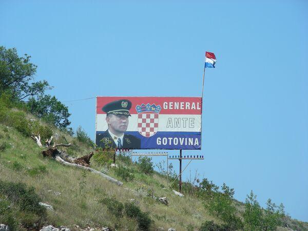 Ex generales croatas Ante Gotovina - Sputnik Mundo