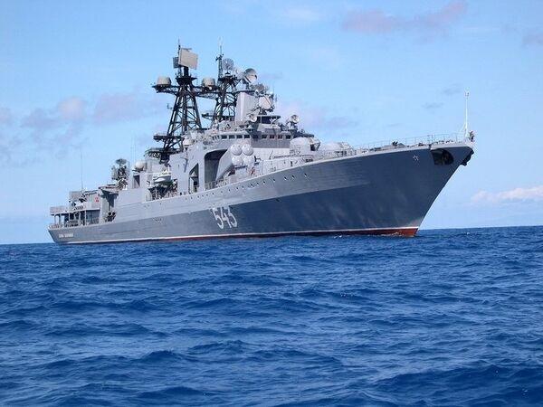 El buque antisubmarinos Mariscal Sháposhnikov - Sputnik Mundo