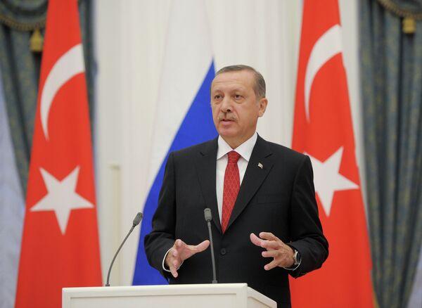 El primer ministro de Turquía, Recep Tayyip Erdogan - Sputnik Mundo