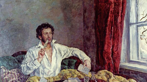 El poeta ruso Alexandr Pushkin (1799-1837) - Sputnik Mundo