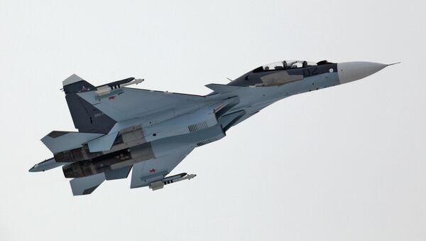 Caza Su-30 de Fuerza Aérea rusa - Sputnik Mundo