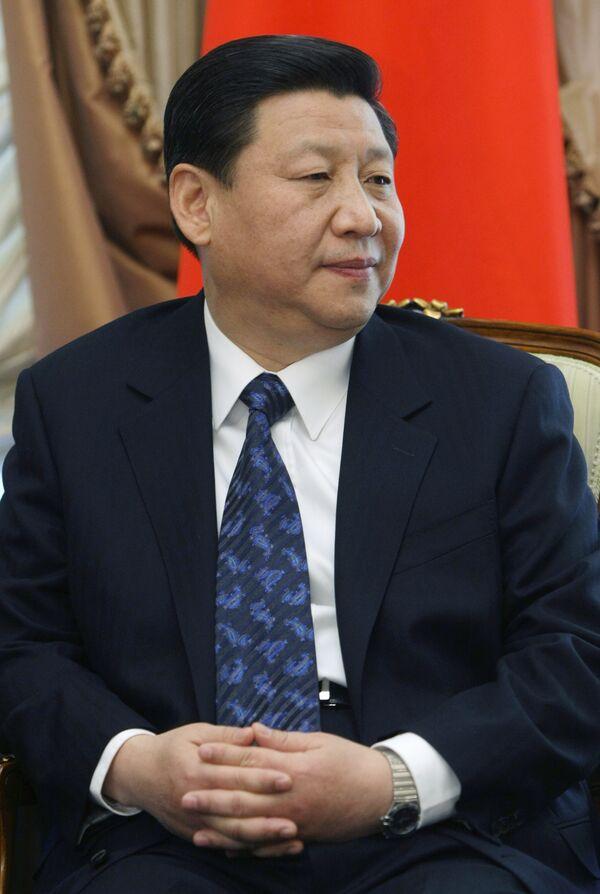 El secretario general del Partido Comunista de China (PCCh) y vicepresidente del país, Xi Jinping - Sputnik Mundo