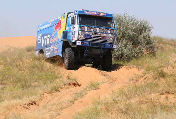 El equipo ruso KAMAZ-Master obtiene el segundo lugar en el Africa Race - Sputnik Mundo