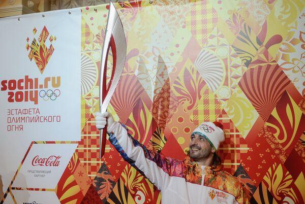 La llama olímpica de Sochi 2014 viajará al espacio - Sputnik Mundo