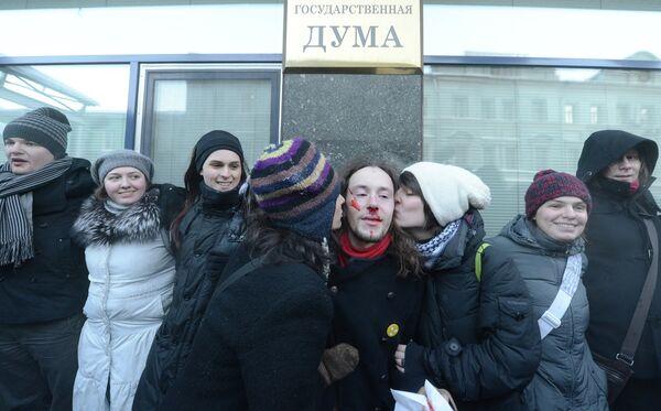 """HRW expresó preocupación con motivo de la """"ley anti gay"""" aprobada en varias regiones de Rusia - Sputnik Mundo"""