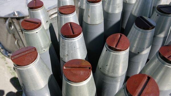 Rusia comienza la destrucción de sus armas químicas complejas - Sputnik Mundo