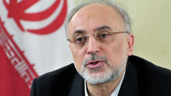 Ministro iraní de Asuntos Exteriores Ali Akbar Salehi - Sputnik Mundo
