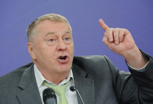 El líder del Partido Liberal-Demócrata ruso, Vladímir Zhirinovski - Sputnik Mundo