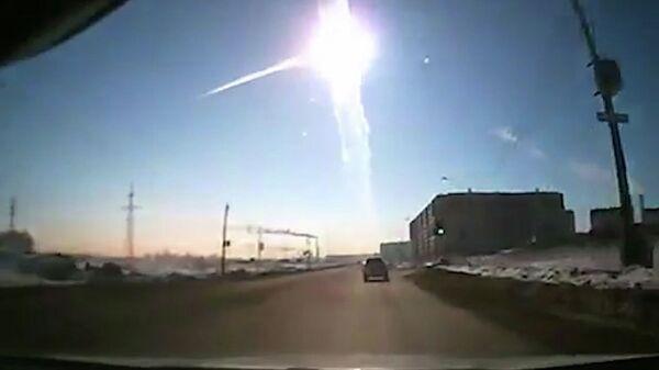 Caída del meteorito en la provincia de Cheliábinsk - Sputnik Mundo