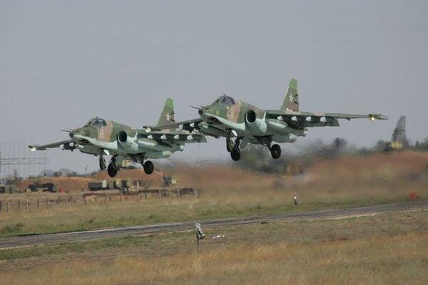 Avión ruso Su-25 - Sputnik Mundo