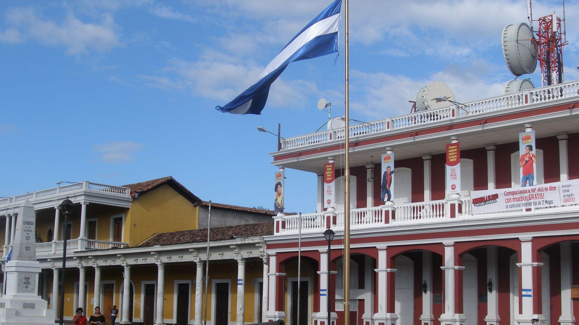 Bandera de Nicaragua  - Sputnik Mundo, 1920, 28.09.2021
