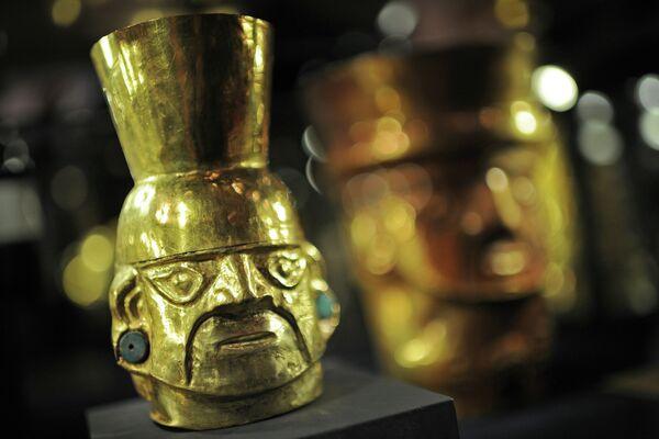 El oro de los incas llega a Moscú - Sputnik Mundo