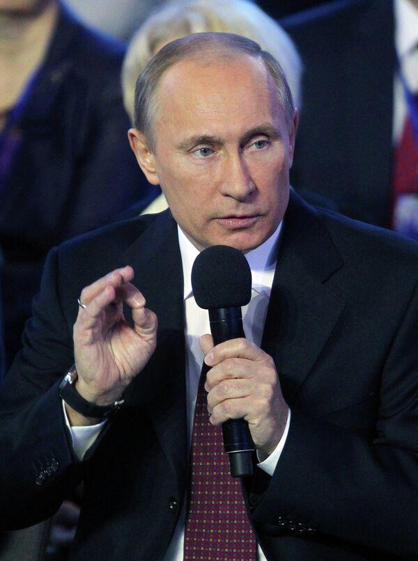 Putin propone transformar el Frente Popular de Rusia en un amplio movimiento social - Sputnik Mundo