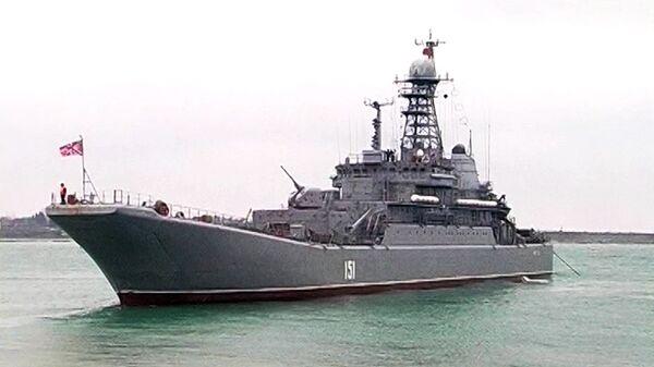 Ejercicios militares a gran escala de la Flota del Mar Negro de Rusia - Sputnik Mundo