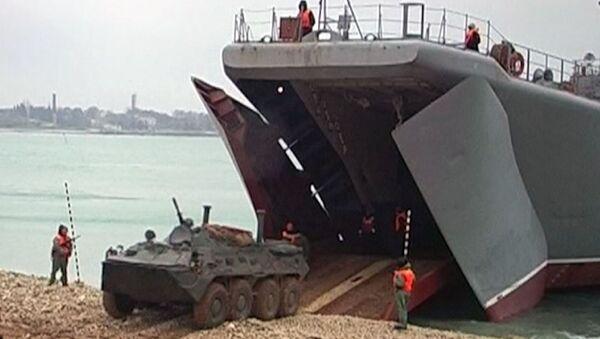 """Rusia inicia ejercicios """"sorpresa"""" a gran escala en el Mar Negro - Sputnik Mundo"""