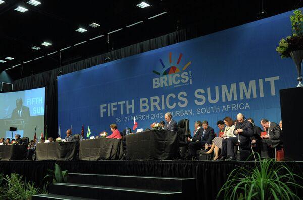 La cumbre del BRICS busca crear un nuevo orden mundial - Sputnik Mundo