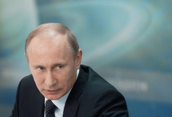 Putin insiste en que servicios secretos no actúen al margen de la ley - Sputnik Mundo