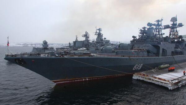 Destructor antisubmarino 'Severomorsk' - Sputnik Mundo