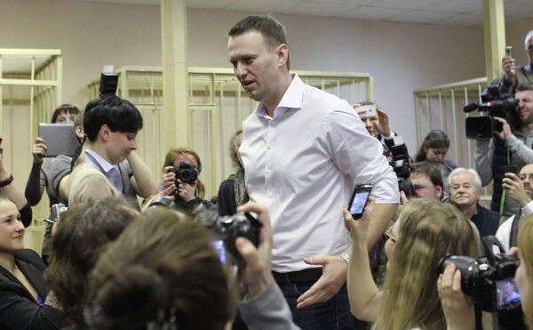 Aplazan el juicio contra el crítico del Kremlin Alexéi Navalni - Sputnik Mundo
