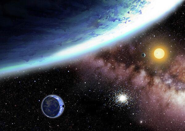 Dos planetas hallados, Kepler-62 e y Kepler-62f - Sputnik Mundo