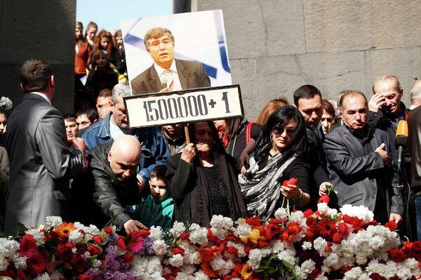 Armenia recuerda hoy a las víctimas del genocidio - Sputnik Mundo