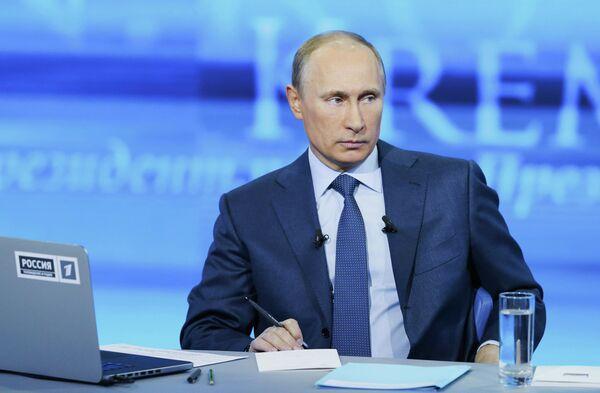 EN VIVO: Línea directa con Vladímir Putin - Sputnik Mundo