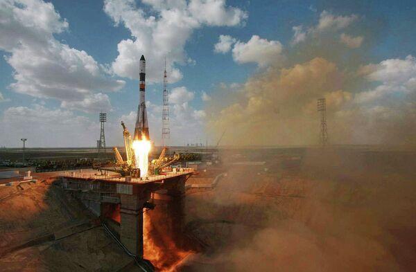 Carguero espacial Progress M-19M, 24 de abril 2013 - Sputnik Mundo