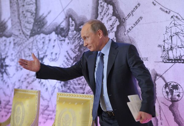 Las restricciones impuestas por EEUU a las empresas rusas son desleales, según Putin - Sputnik Mundo