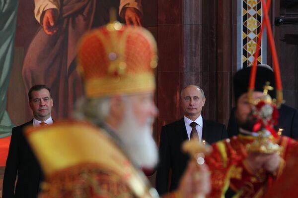 Putin: La Iglesia es socia natural del Estado - Sputnik Mundo