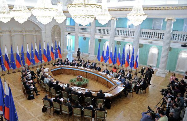 La XXXI Cumbre Rusia-Unión Europea en Ekaterimburgo (los Urales) - Sputnik Mundo