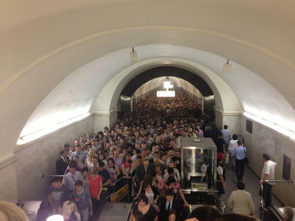 Сolapso en el metro de Moscú - Sputnik Mundo